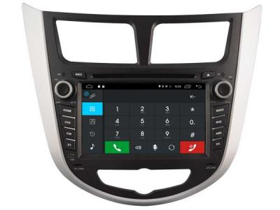 AUTORADIO GPS BLUETOOTH HYUNDAI ACCENT VERNA SOLARIS + CAMERA DE RECUL