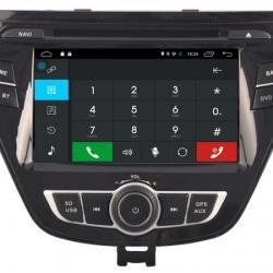 AUTORADIO GPS BLUETOOTH HYUNDAI ELANTRA AVANTE 2014-2015 + CAMERA DE RECUL