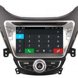 AUTORADIO GPS BLUETOOTH HYUNDAI NEW ELANTRA AVANTE i35 2010-2013 + CAMERA DE RECUL