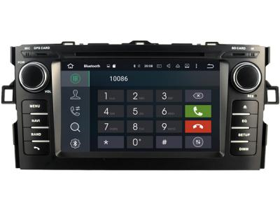 AUTORADIO GPS BLUETOOTH TOYOTA AURIS 2008-2012 + CAMERA DE RECUL