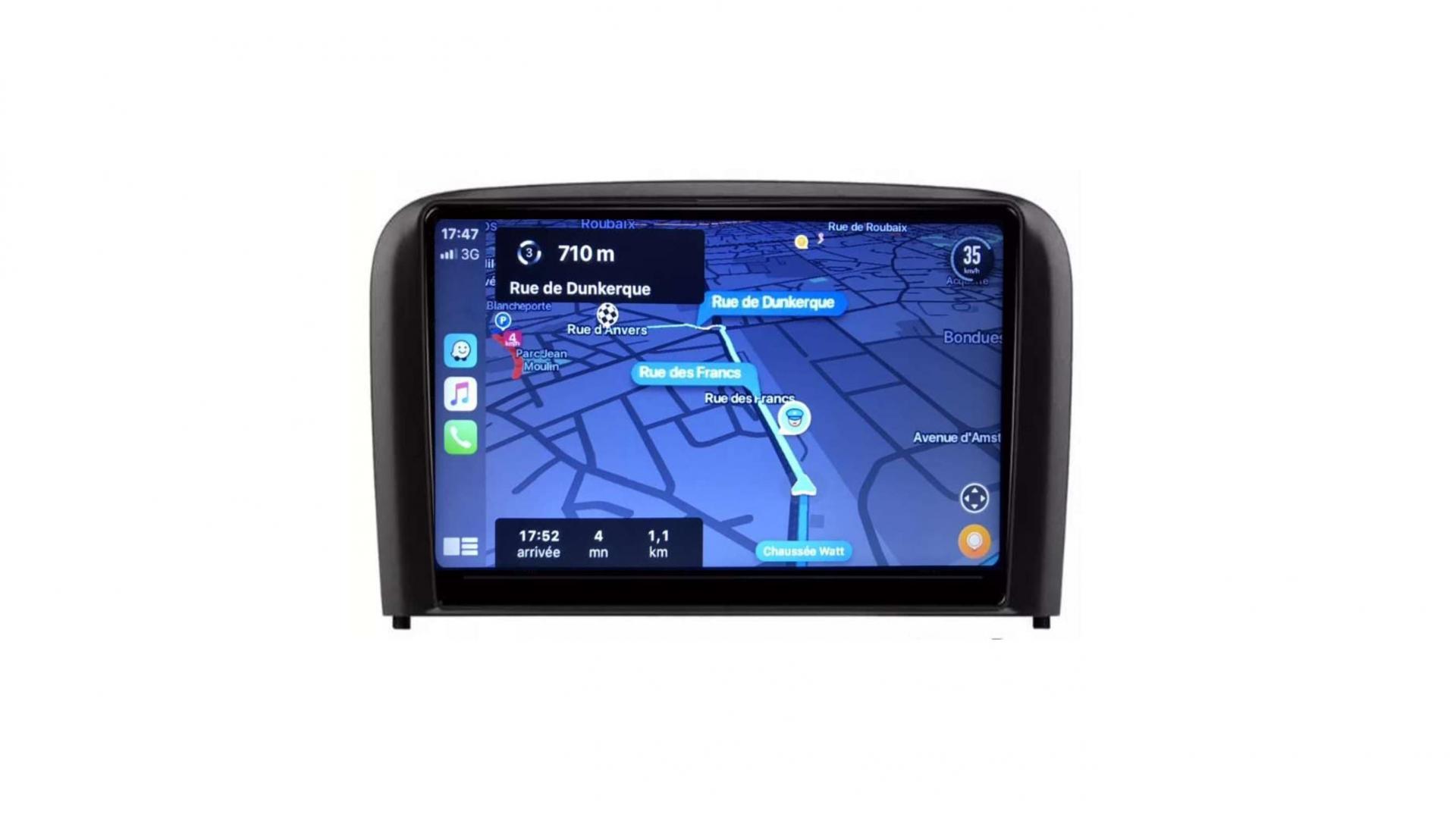 Volvo s80 autoradio android wifi gps carplay android auto bluetooth 2