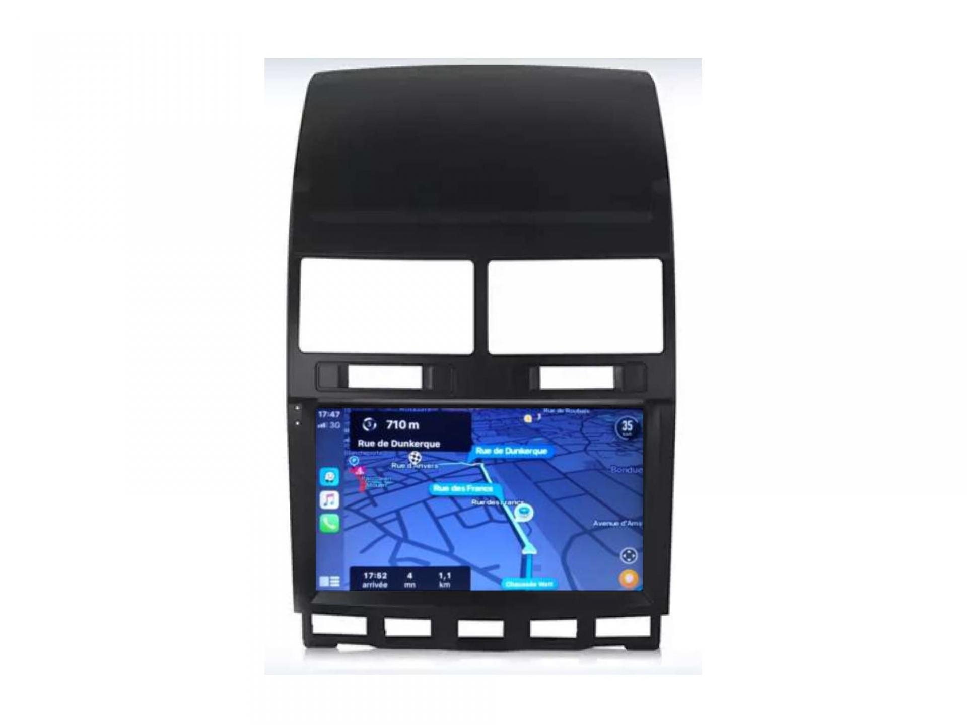 Vw touareg transporter t5 t6 autoradio gps carplay android auto bluetooth 3