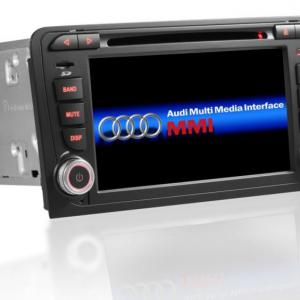 Www gps navigation fr double bluetooth android audi a3 8p s3 rs sportback camera de recul commande au volant ipod tv dvbt 3g 4g pas cher wifi poste usb sd tnt 2 din tactile canbus
