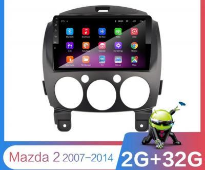 AUTORADIO ANDROÏD GPS BLUETOOTH MAZDA 2  2007-2013 + CAMERA DE RECUL