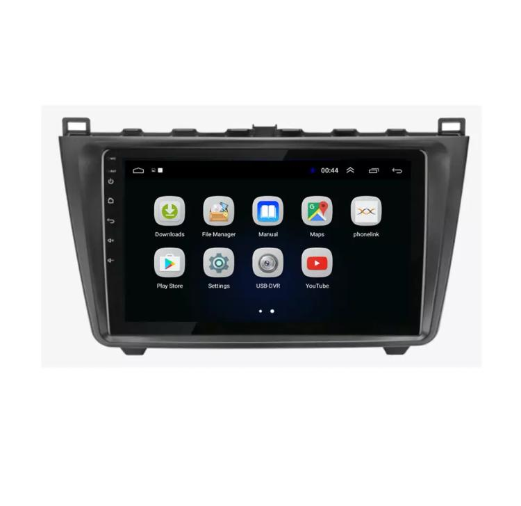 Www gps navigation fr double bluetooth android mazda 6 camera de recul commande au volant ipod tv dvbt 3g 4g pas cher wifi poste usb sd tnt 2 din tactile canbus mirror link iphone