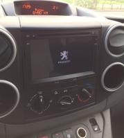 Www gps navigation fr double din bluetooth android citroen berlingo depuis 2008 camera de recul 1