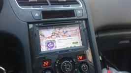 Www gps navigation fr double din bluetooth android citroen berlingo depuis 2008 partner 3008 5008 camera de recul 7